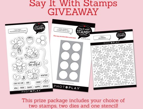 A Photoplay Paper Say it With Stamps Giveaway!