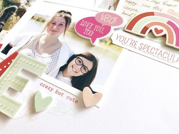 SCT Magazine - Scrapbook 101: BTTB - You & Me by Jen Schow
