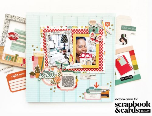 Adhesive Week: Create A Touch of Sparkle with Victoria Calvin!