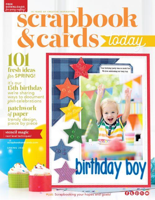 Scrapbook & Cards Today - Spring 2021