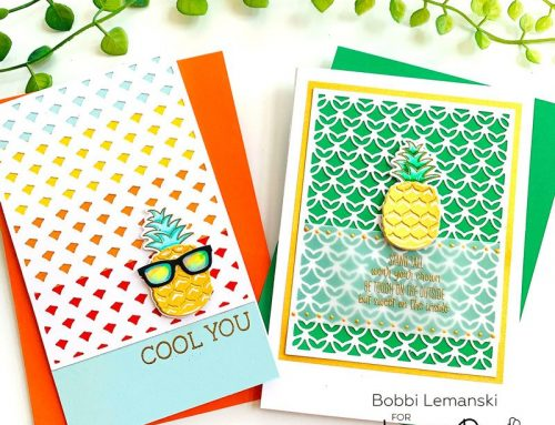 One Fine-apple Featuring Honey Bee Stamps!