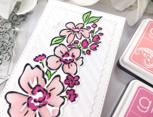 Tried, Trendy and True: Slimline Cards + Process video with Mari Clarke
