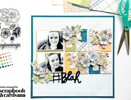 """""""Designed With"""" Nicole: Sensational Stamping for Layouts"""