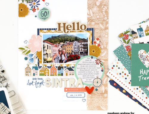 Patterned Paper Play with the SCT Sampler + Meghann Andrew!