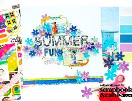 Summer Issue Challenge Week: Continuing with Colour and Nathalie DeSousa!