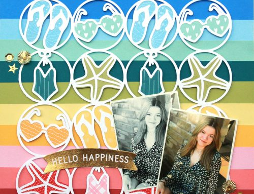 Summer Issue Challenge Week: Free Cut File Fun with Lisa Dickinson!