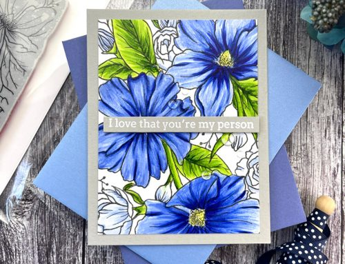 Creative Cards: Beautiful Backgrounds, Two Ways with Sidnie Des Jardins!