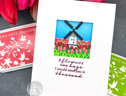 New Looking Glass Die Inspiration with Hero Arts!
