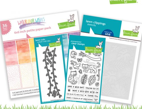 A Lawn Fawn Summer Release GIVEAWAY!