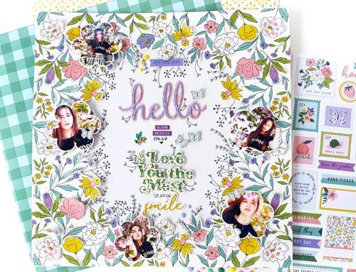 Introducing Happy Blooms from Pinkfresh Studio + Blog Hop News!