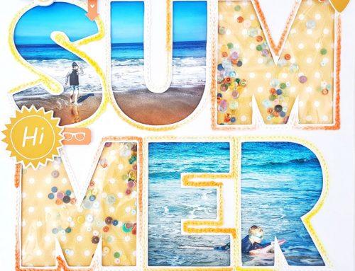 A BIG Summer Moment + FREE CUT FILE with Guest Amanda Baldwin!