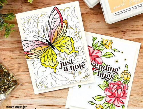 Creative Cards with Mindy Eggen: Sharing Sympathy