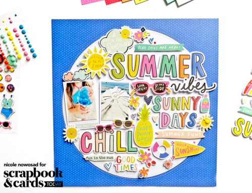 """""""Designed With"""" Nicole: Sticker and Die Cut Stash Bash!"""